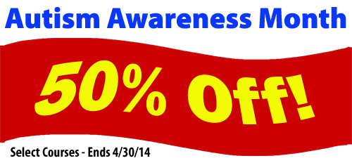 Autism Awareness Month CE Specials