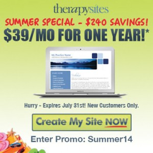 TherapySites Summer Special – Only 3 Days Left!