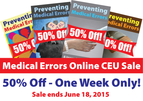 Medical Errors Online CEU Event