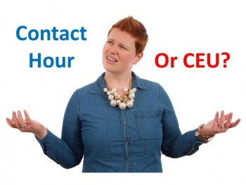 Contact Hour or CEU?