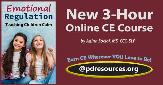 Emotional Regulation: Teaching Children Calm is a 3-hour online continuing education (CE/CEU) course that provides strategies and techniques for helping children navigate their emotions.