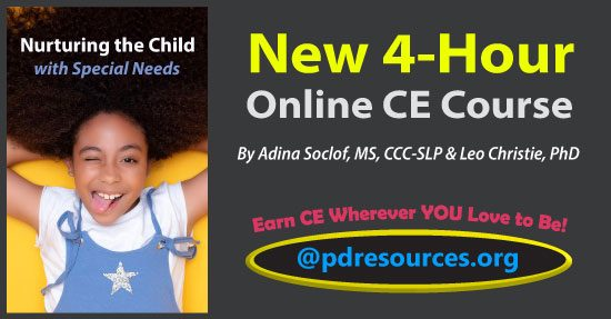 Nurturing the Child with Special Needs is a new 4-hour online CE course that provides strategies for healthcare professionals to support children with special needs to manage behavior, sensory issues, and language challenges.
